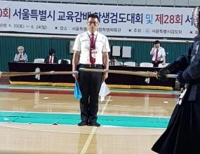 대한검도회 전국 최우수검도장 용검관검도장